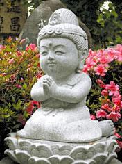 水子供養地蔵尊石仏像「慰霊塔」...